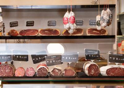 Saucissons de la boucherie Abbaye