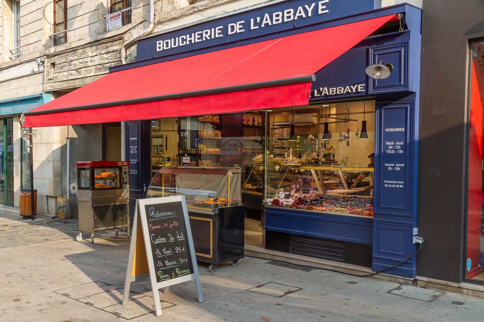 Boutique boucherie Abbaye