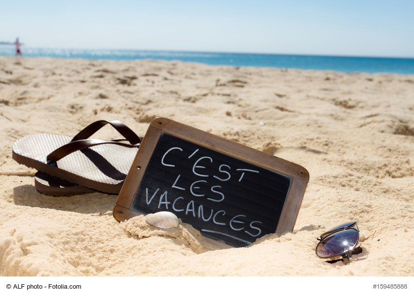C'est les vacances ;)